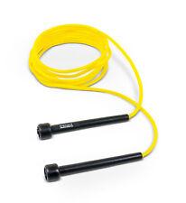 TRENAS Speed Rope - Gelb - 3 m - Schnelles Springseil mit Griffen - Speedrope