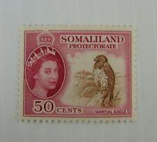 c1950 Somaliland SC #134 MARTIAL EAGLE  MH stamp