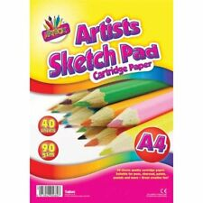 cahier de dessin A4 croquis 40 feuilles 90 gm artist
