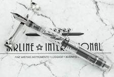 Pelikan Special Edition M205 Clear Demonstrator Fountain Pen - Fine Nib