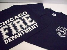Chicago Fire Department Adult Navy Tee