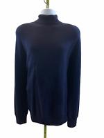 J Crew Men's Destination Merino Wool Long Sleeve Turtleneck Sweater XL J7337