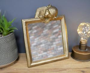 Gold Monkey Mirror Home Bedroom Decor Shabby Chic Style