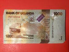 Uganda 1000 shilling 2010 pick #49a Bundle 43 pcs