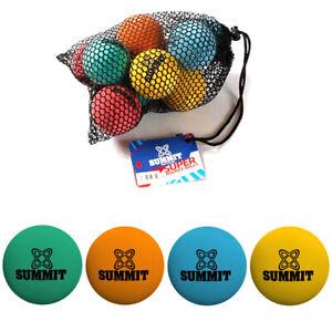SUMMIT School Bounce Balls - Perfect for School Handball - 10 Pack