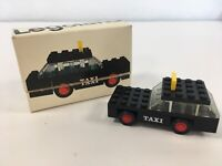 LEGO Systems Legoland 605 Vintage 70s Taxi Complete w/ Box NO Instructions