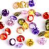 Size 10mm Round Cut  AAA Natural Zircon Gems Diamonds Loose Gemstone 12Colors