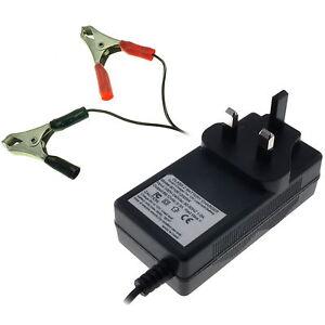 300mA / 0.3A Automatic Smart Charger for 6V & 12V SLA Sealed Lead-Acid Batteries