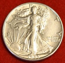 1943-P 50C WALKING LIBERTY HALF DOLLAR AU BEAUTIFUL COIN CHECK OUT STORE WL395
