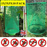 Fly Trap Reusable Hanging Folding Ranch Trap Catcher Flytrap Pest Control 10PACK