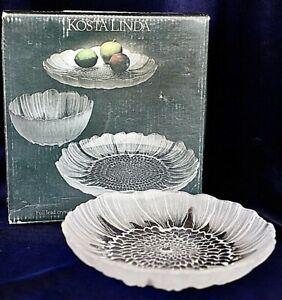 Vintage KOSTA Linda Lydia Desert Plate 16cm diameter Designed Mats Jonasson