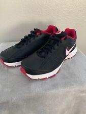 Nike Wmns T-Lite XI black pink women's low-top sneakers indoor trainers SizeUS 9