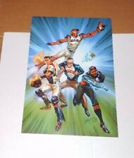 Sf Giants Stan Lee Comic & Superheros Poster Print 2015 Sga Buster Posey Mint