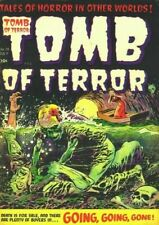 TOMB OF TERROR #1-16 FULL RUN ON DVD GOLDEN AGE PRE CODE HORROR COMICS HARVEY