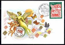 FRANCE FDC - 1998 4 JOURNEE DU TIMBRE - 3135 - LYON -SUR CARTE POSTALE