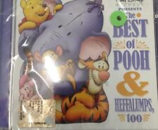 THE BEST OF POOH& HEFFALUMPS TOO DISNEY RECORD CD NUOVO/NEW SEALED RARE
