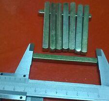 1 x CARRÉ SERRURE POIGNÉE DE PORTE 7mmx7mmx70mm  7 mm x 70 mm