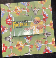 Vintage 1993 The Crazy Football Game Puzzle Brain Teaser Price Stern Sloan