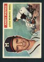 1956 Topps #312 Andy Pafko EX+ Braves 83814
