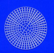 """7 Count Plastic Canvas by Darice 4.5"""" Round, Pack of 5"""