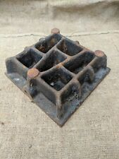 Cast Iron Surface Plate 10in Vintage USSR