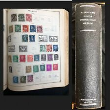 RARE 1943 Scott International Junior Stamp Album 1800's-1940's MSG WITH OFFERS