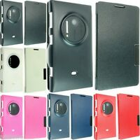 FOR NOKIA LUMIA 1020 LUXURY LEATHER WALLET CASE COVER FLIP POUCH SKIN SLIM SMART