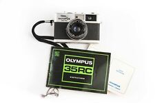 Olympus 35 Rc Rangefinder Film Camera With 42mm f2.8 Lens Untested W/User Manual