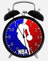 "NBA Alarm Desk Clock 3.75"" Home or Office Decor W279 Nice For Gift"