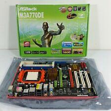 ASRock Motherboard M3A770DE AM3 Socket DDR3 1600 SB710 Chipset in Box