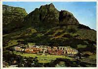 Postkarte Südafrika ~1970 Kapstadt University of Cape Town mit Devil`s Peak Hill