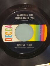 """ERNEST TUBB 7"""" 45 RPM - """"Walkin' the Floor Over You"""" """"Mr. Juke Box"""" VG condition"""