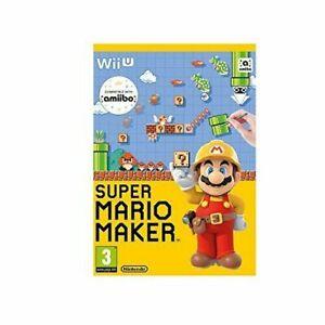 Super Mario Maker Wii U Video Game Fast Delivery!