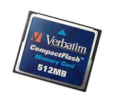 Verbatim Compact Flash Memory Card | 512mb
