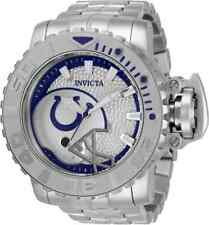 Invicta 70mm NFL Sea Hunter GEN II INDIANAPOLIS COLTS Automatic Silver SS Watch