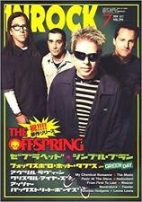 INROCK Jul 2008 7 Japan Music Magazine THE FFSPRING GREEN DAY