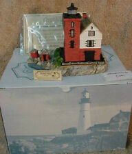 Harbour Lights Round Island Michigan Lighthouse #153 Limited Edition
