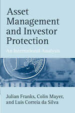 Asset Management and Investor Protection: An International Analysis-ExLibrary