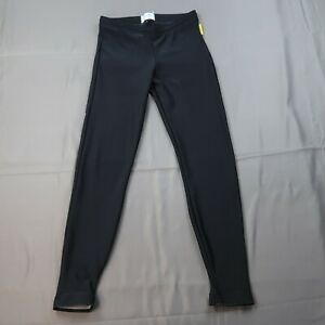 Pearl Izumi Cycling Pants Size Small Black Pull On Stretchy Unlined Unpadded