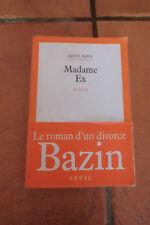 Madame ex Bazin Herve