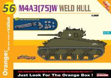 DRAGON 1/35 9156 M4A3(75)W Weld Hull w/Logs and Backpacks