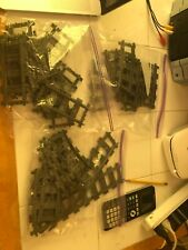 LEGO Trains Straight and Curved Rails and 1 switching track (26 pieces total)