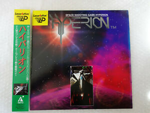 "Hyperion + Spine Card ""Very Good Condition"" Sega Laseractive Mega-LD Japan"