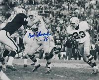 1960's PACKERS Bob Skoronski signed photo 8x10 AUTO Autographed Green Bay