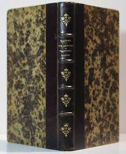 CICÉRON Des Devoirs Traduction BURNOUF. Éd. Delalain 1845 Première édition.