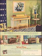 1941 Vintage ad for Wurlitzer Piano` Photos The Rudolph Wurlitzer Co.   (021417)