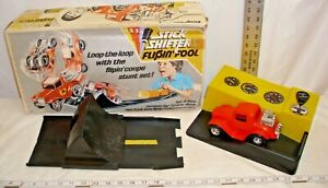 HASBRO STICK SHIFTERS FLIPIN FOOL CAR PLAY SET BOXED WORKS BATTERY TOY