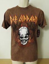 Def Leppard Skull Wings Retro Look Rock T-Shirt Men's Size M, L New W/Tags