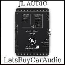 JL AUDIO FIX-82 OEM aggiungere su DSP, AUTO correzione temporale, digital eq, uscita ottica