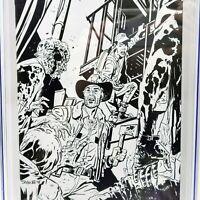 The Walking Dead #2 Anniversary (Chris Samnee Variant, Virgin Sketch) 9.8 CGC